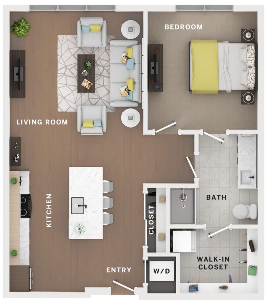 Industry Cincinnati Floor Plan 4