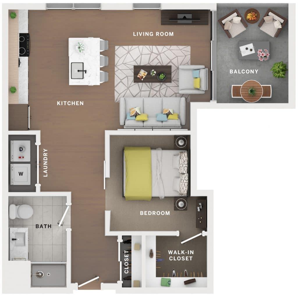 Industry Cincinnati Floor Plan 23