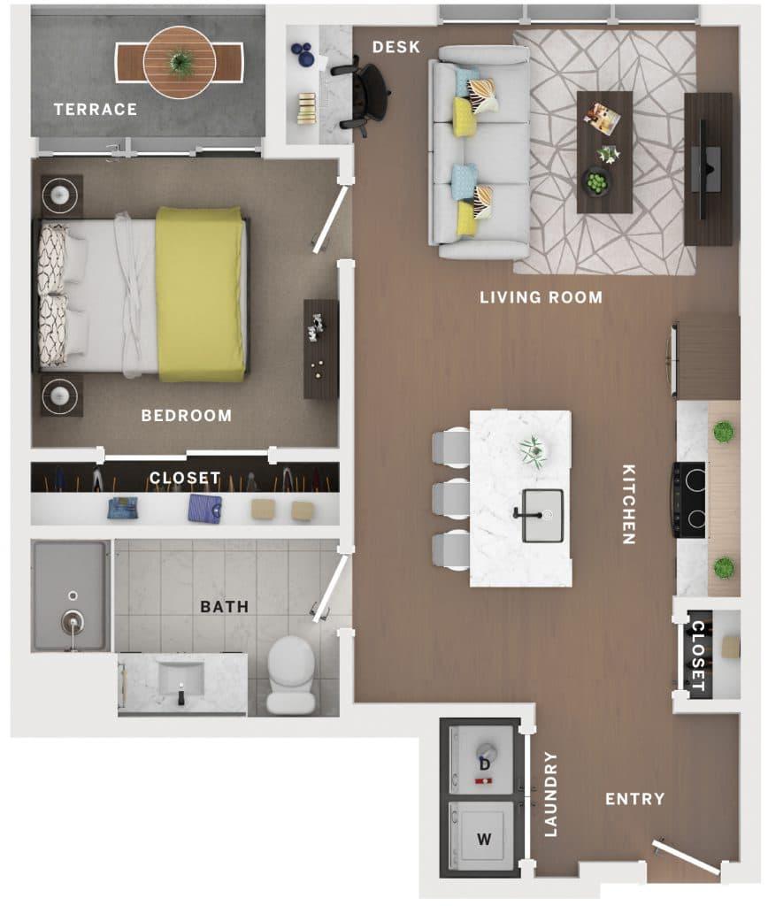 Industry Cincinnati Floor Plan 22