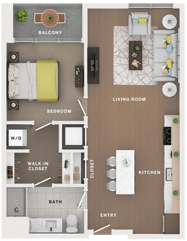 Industry Cincinnati Floor Plan 21
