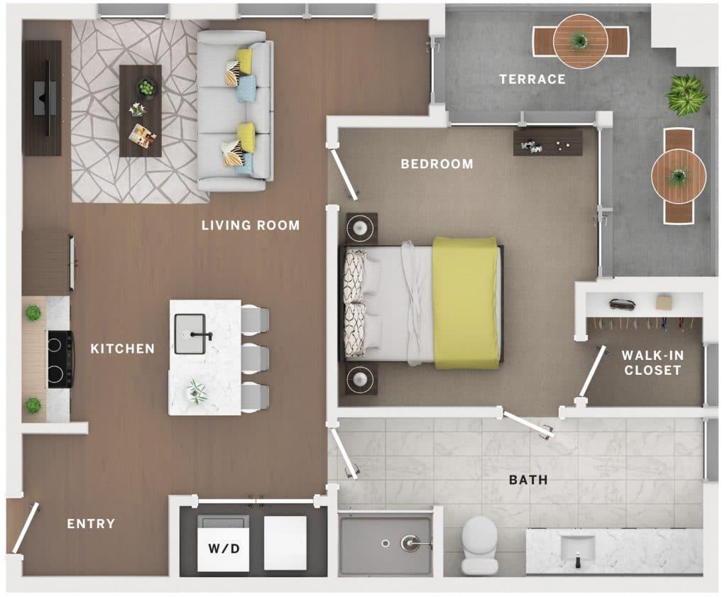 Industry Cincinnati Floor Plan 20