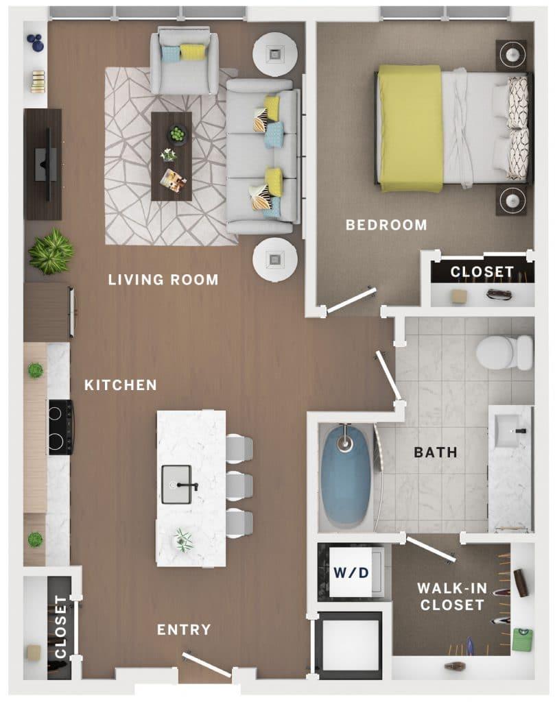 Industry Cincinnati Floor Plan 19