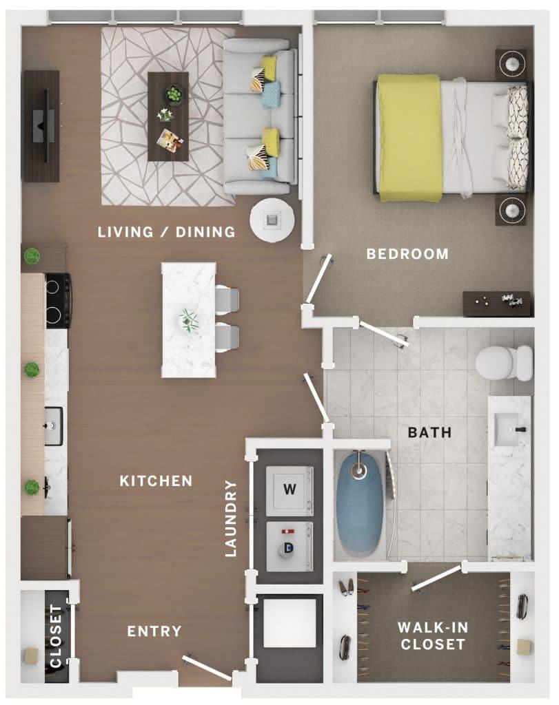 Industry Cincinnati Floor Plan 18