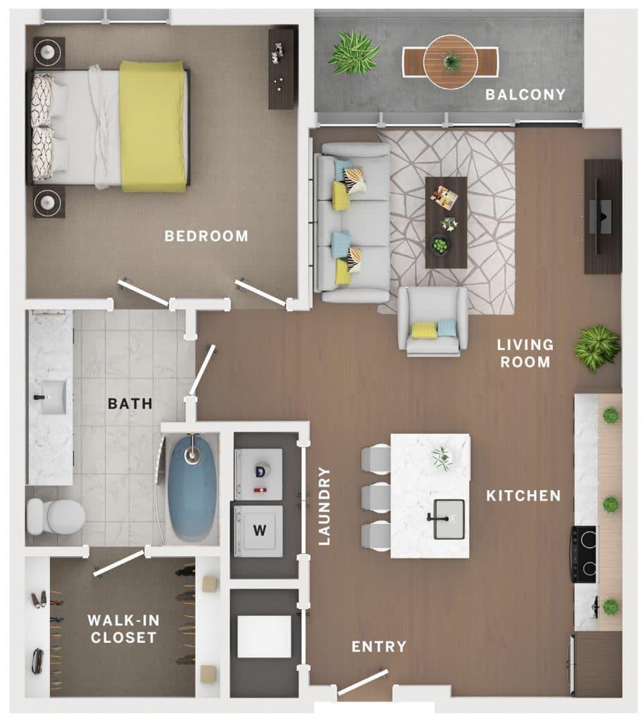 Industry Cincinnati Floor Plan 17