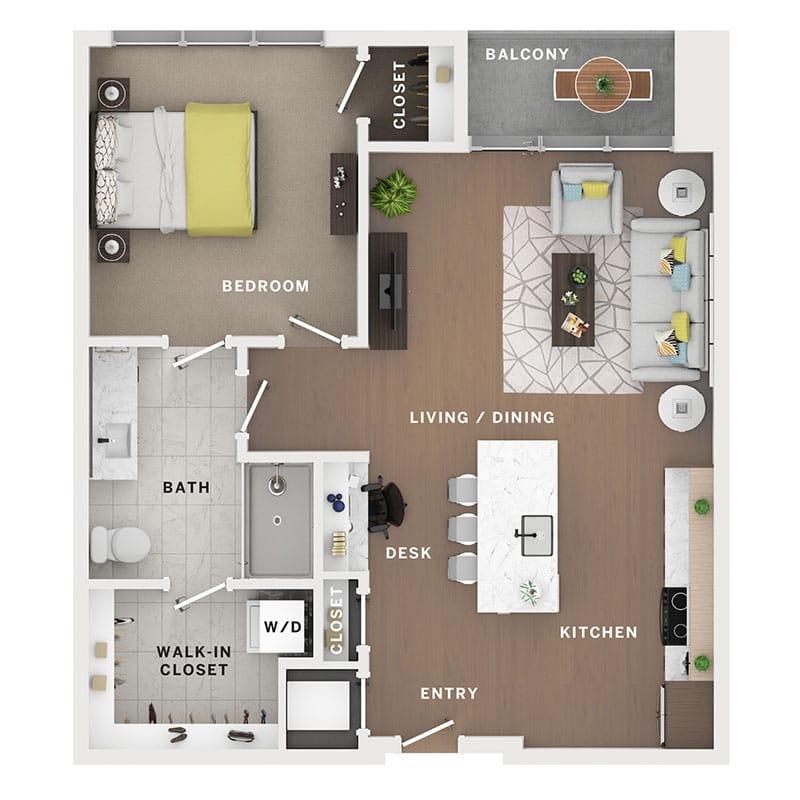 Industry Cincinnati Floor Plan 26