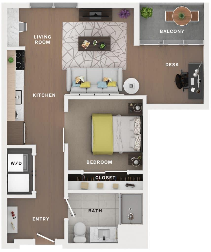 Industry Cincinnati Floor Plan 24