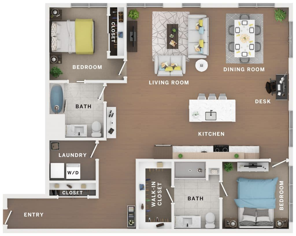 Industry Cincinnati Floor Plan 8