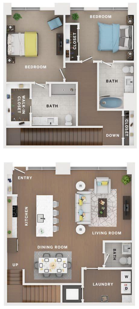 Industry Cincinnati Floor Plan 7