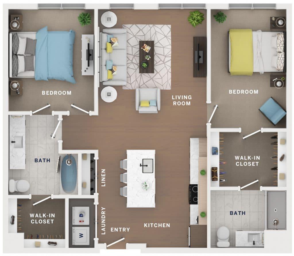 Industry Cincinnati Floor Plan 14