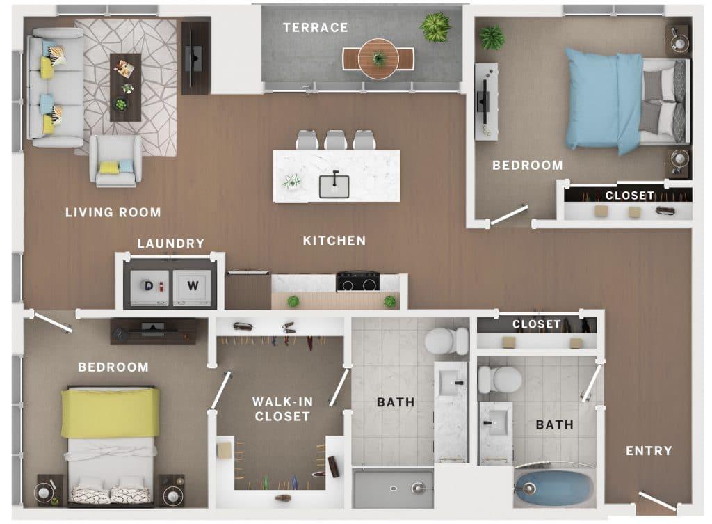 Industry Cincinnati Floor Plan 13
