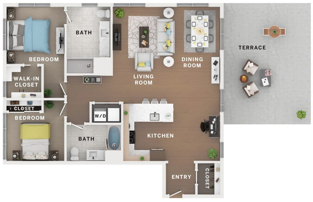 Industry Cincinnati Floor Plan 10