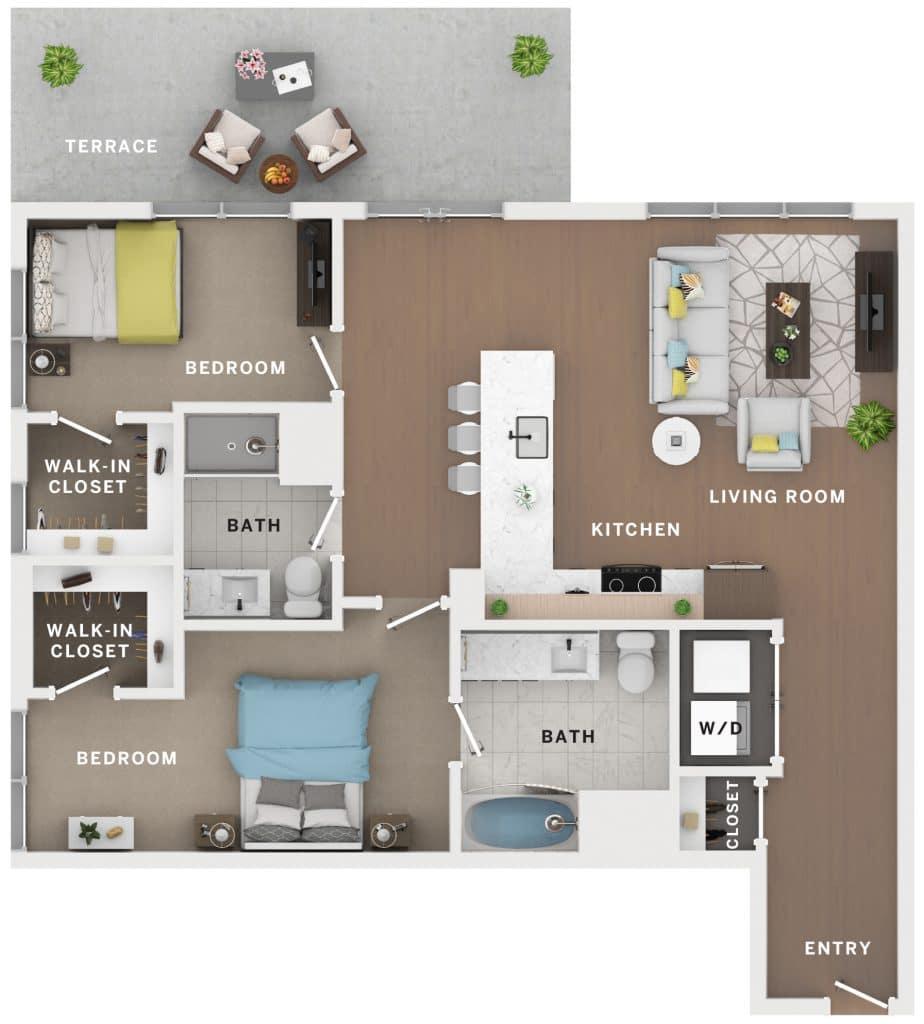 Industry Cincinnati Floor Plan 15