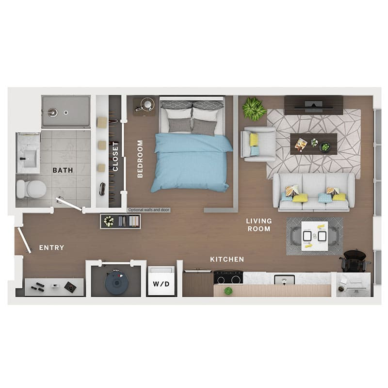 Industry Cincinnati Floor Plan 25