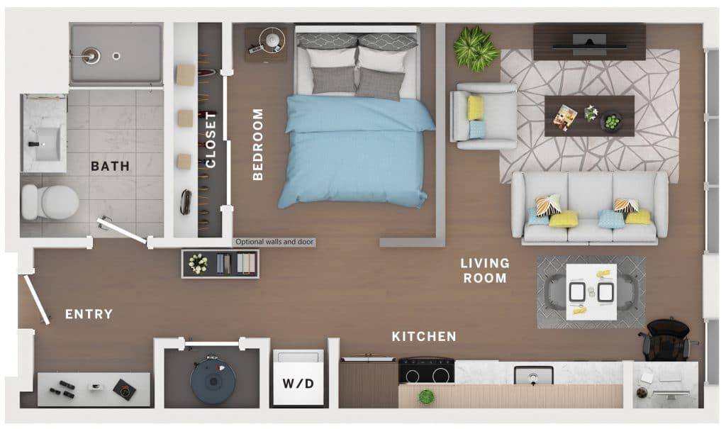 Industry Cincinnati Floor Plan 2